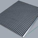 Nivelator simplu PVC SPECIAL pe suport din aluminiu