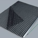 Nivelator dublu PVC SPECIAL pe suport din aluminiu
