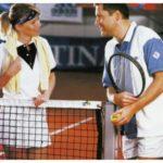 Fileu tenis Huck, fir 3mm polietilena, impletit manual, margini rotunjite