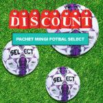 pachet mingi fotbal select mov