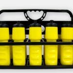 Set 10 bidoane hidratare cu suport POWERSHOT